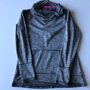 RBX Active Sweater Cowl Neck Space Dye Size Medium